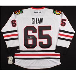 Andrew Shaw Signed Blackhawks Jersey (YSMS Hologram)