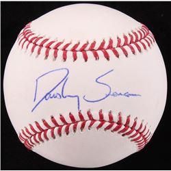 Dansby Swanson Signed OML Baseball (Radtke COA)