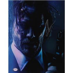 "Keanu Reeves Signed ""John Wick"" 11x14 Photo (PSA Hologram)"