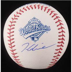 Tom Glavine Signed 1995 World Series Baseball (Schwartz COA)