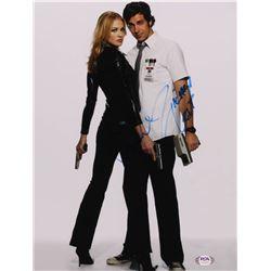 "Zachary Levi  Yvonne Strahovski Signed ""Chuck"" 11x14 Photo (PSA Hologram)"
