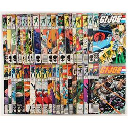 "Lot of (44) ""GI Joe"" Marvel Comic Books"