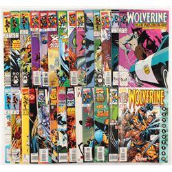 "Lot of (27) ""Wolverine"" 1st Series Marvel Comic Books"