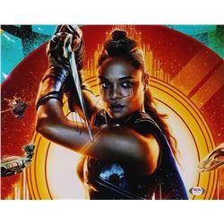 "Tessa Thompson Signed ""Thor: Ragnarok"" 11x14 Photo (PSA Hologram)"