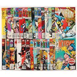 "Lot of (35) ""Wolverine"" 1st Series Marvel Comic Books"