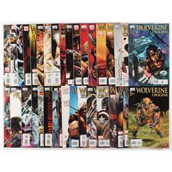 "Lot of (35) ""Wolverine Origins""  Marvel Comic Books"