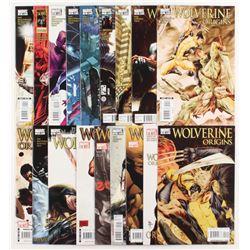 "Lot of (18) ""Wolverine Origins""  Marvel Comic Books"