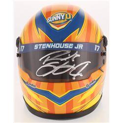 Ricky Stenhouse Jr. Signed NASCAR SunnyD 1:3 Scale Mini-Helmet (PA COA)