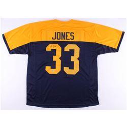 Aaron Jones Signed Jersey (Beckett COA)