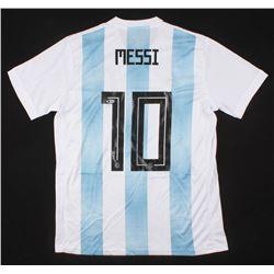 "Lionel Messi Signed Argentina Jersey Inscribed ""Leo"" (Beckett COA)"