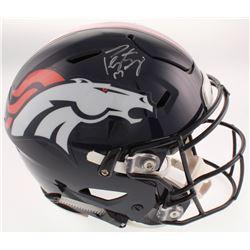 Peyton Manning Signed Broncos Full-Size Authentic On-Field SpeedFlex Helmet (Fanatics Hologram)