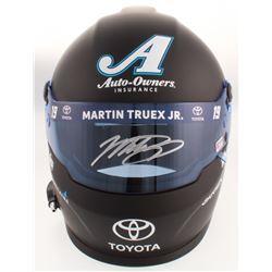 Martin Truex Jr. Signed NASCAR Auto Owners Insurance 500th Start Full-Size Helmet (PA COA)