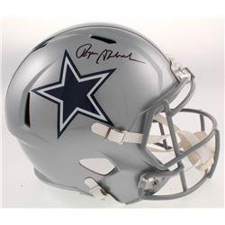 Roger Staubach Signed Cowboys Full-Size Speed Helmet (Beckett COA)