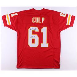 "Curley Culp Signed Jersey Inscribed ""HOF 13"" (JSA COA)"