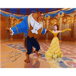 """Paige O'Hara  Robby Benson Signed """"Beauty and the Beast"""" 16x20 Photo Inscribed """"Belle""""  """"Beast"""" (Bec"""