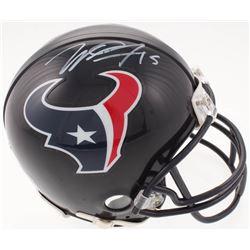 Will Fuller Signed Texans Mini Helmet (JSA COA)