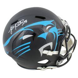 Luke Kuechly Signed Carolina Panthers Full-Size AMP Alternate Speed Helmet (Beckett COA)