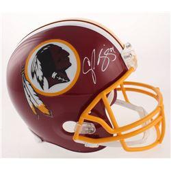 Champ Bailey Signed Washington Redskins Full-Size Helmet (JSA COA)