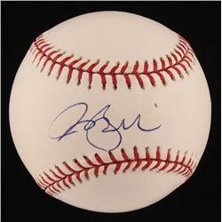 Rocco Baldelli Signed OML Baseball (JSA COA)