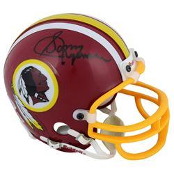 Sonny Jurgensen Signed Washington Redskins Mini Helmet (Beckett COA)