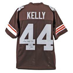 Leroy Kelly Signed Jersey Inscribed  HOF 1994  (Beckett COA)