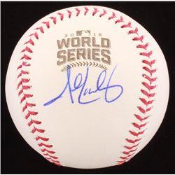 John Lackey Signed 2016 World Series Baseball (Beckett COA)