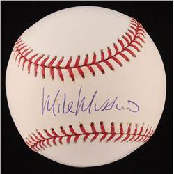 Mike Mussina Signed OML Baseball (Steiner Hologram)