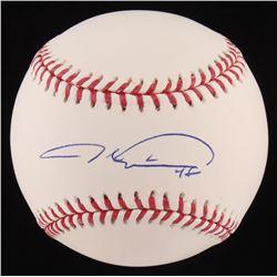 Jacob deGrom Signed OML Baseball (LOJO COA)