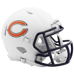 Bears Matte White Speed Mini Helmet