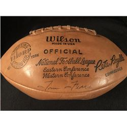 1962 Green Bay Packers World Championship Team Signed Football by (42) with Lombardi, Starr, Adderly