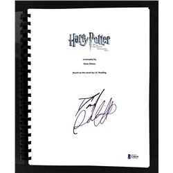 "Daniel Radcliffe Signed ""Harry Potter  the Deathly Hallows Part 1"" Movie Script (Beckett COA)"