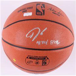 "Giannis Antetokounmpo Signed NBA Game Ball Series Basketball Inscribed ""Greek Freak"" (Radtke COA)"