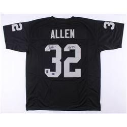 """Marcus Allen Signed Jersey Inscribed """"HOF 03"""" (Radtke COA  Allen Hologram)"""