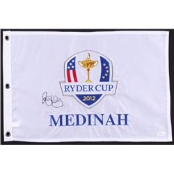 Rory Mcllroy Signed 2012 Ryder Cup Championship Golf Pin Flag (JSA LOA)