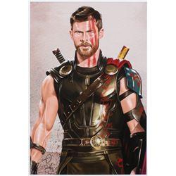 Tony Santiago - Thor - The Avengers - Marvel Comics 13x19 Signed Lithograph (PA COA)