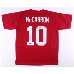 "AJ McCarron Signed Jersey Inscribed ""We Own Alabama"" (Radtke COA)"