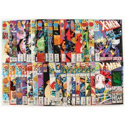 "Lot of (40) ""X-Men"" 1st Series Marvel Comic Books"