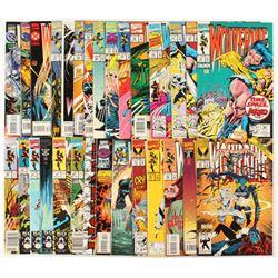 "Lot of (29) ""Wolverine"" 1st Series Marvel Comic Books"