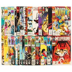 "Lot of (31) ""Wolverine"" 1st Series Marvel Comic Books"