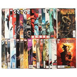"Lot of (32) ""Wolverine"" Marvel Comic Books"