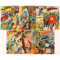 "Lot of (11) ""Superman"" 1st Series Action Comics DC Comic Books"