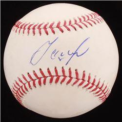 Jose Altuve Signed OML Baseball (PSA COA)