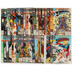 """Lot of (41) """"The Adventures of Superman"""" Action Comics DC Comic Books"""