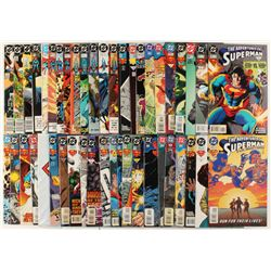 """Lot of (45) """"The Adventures of Superman"""" Action Comics DC Comic Books"""