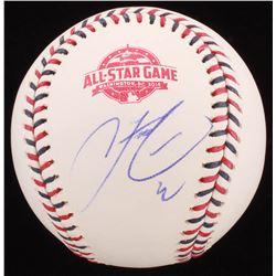 Francisco Lindor Signed 2018 All-Star Game Baseball (PSA COA)