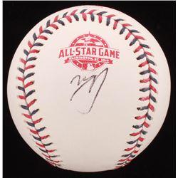 Manny Machado Signed 2018 All-Star Game Baseball (PSA COA)