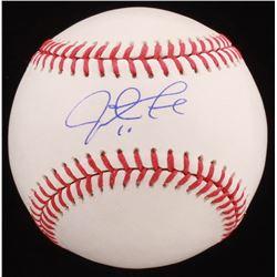 Justin Turner Signed OML Baseball (PSA COA)