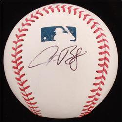 Alex Bregman Signed OML Baseball (PSA COA)