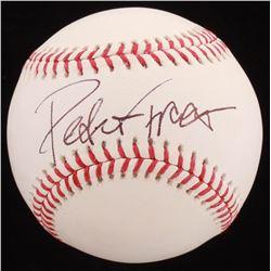 Peter Frampton Signed OML Baseball (PSA COA)