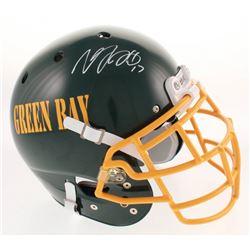 Davante Adams Signed Green Bay Packers Full-Size Authentic On-Field Helmet (Beckett COA)